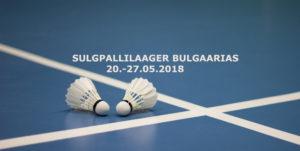 Sulgpallilaager Bulgaarias