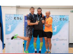 Tondiraba Klubi liikmetele Eesti Seenioride Meistrivõistlustelt 14 medalit