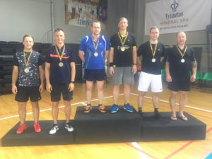 Tondiraba Sulgpalliklubi liikmed jõudsid Balti Seenioride Meistrivõistlustel poodiumile