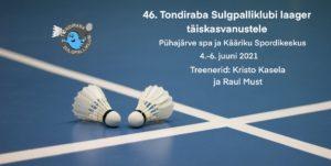 4.-6.juunil toimub sulgpallilaager täiskasvanutele
